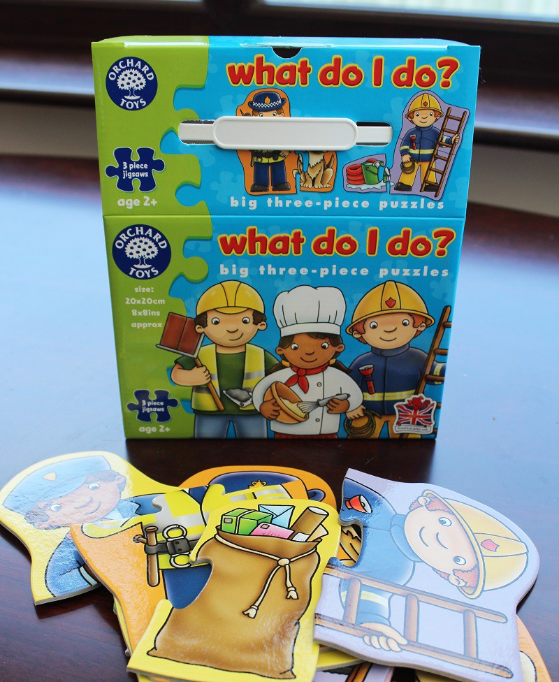Orchard Toys What Do I Do Jigsaw