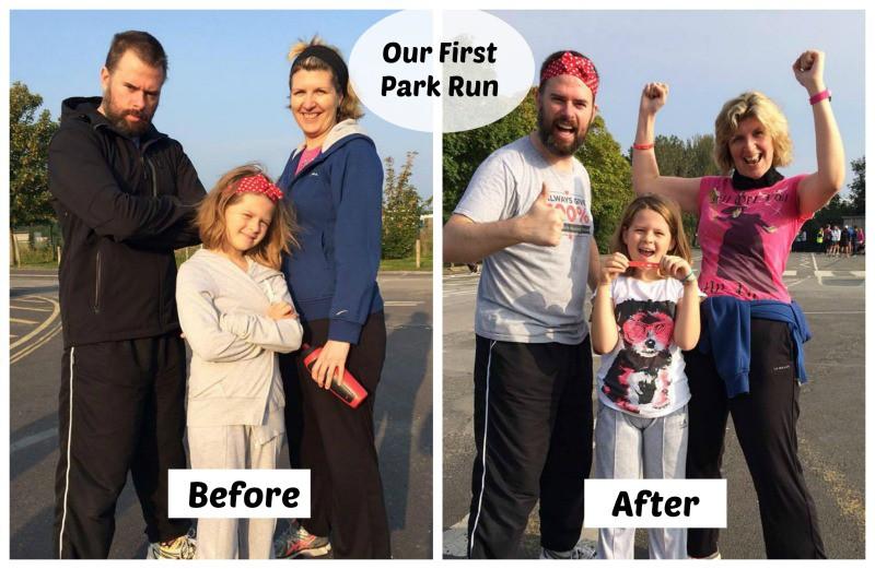 Our First Park Run