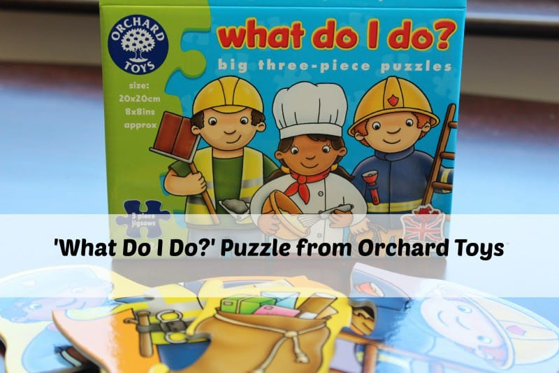 'What Do I Do?' Puzzle from Orchard Toys