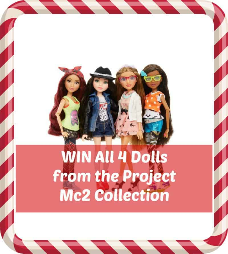 WIN All 4 Dolls from the Project Mc2 Collection. Ends 2pm on 9/12/15