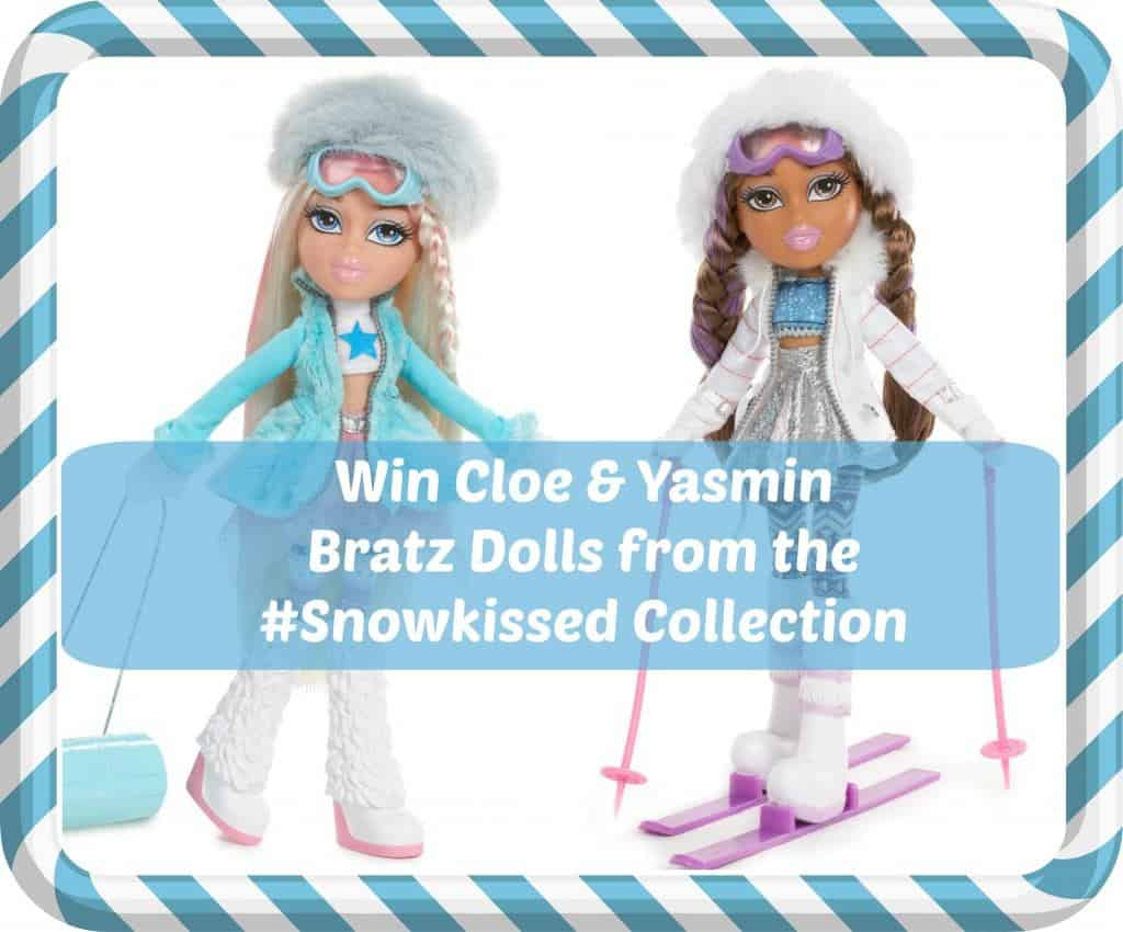 WIN 2 Bratz Dolls from the #Snowkissed Collection Ends: 10am 7th December 2015