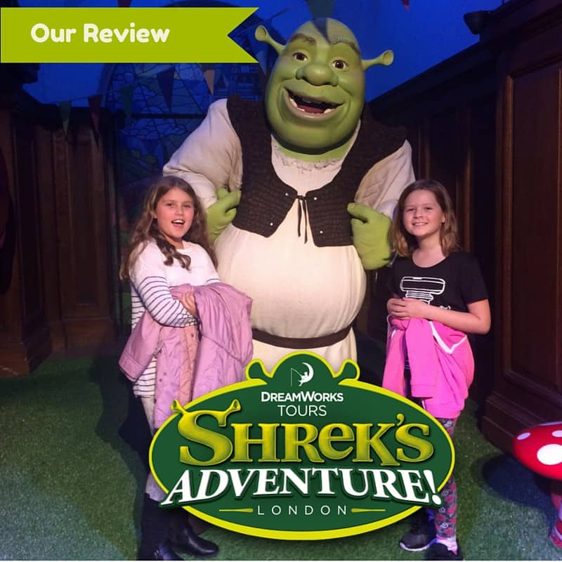 A Review of the Shrek Adventure at Halloween