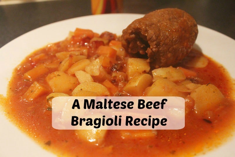 A Maltese Bragioli Recipe for the Expedia World on a Plate Challenge