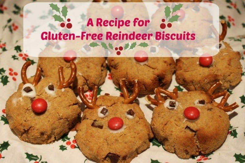 A Recipe for Gluten-Free Reindeer Biscuits Using Indigo Herbs Ingredients