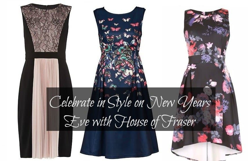 Celebrate in Style on New Years Eve with House of Fraser