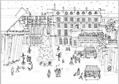 Covent Garden Christmas Card