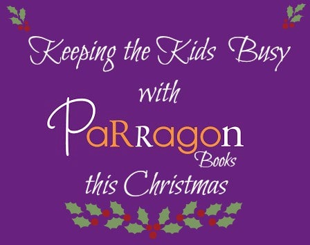 Keeping the Kids Busy with Parragon Books This Christmas