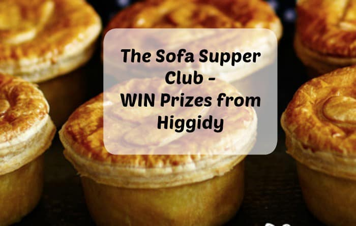The Sofa Supper Club – WIN Prizes from Higgidy. Ends 8th January 2015