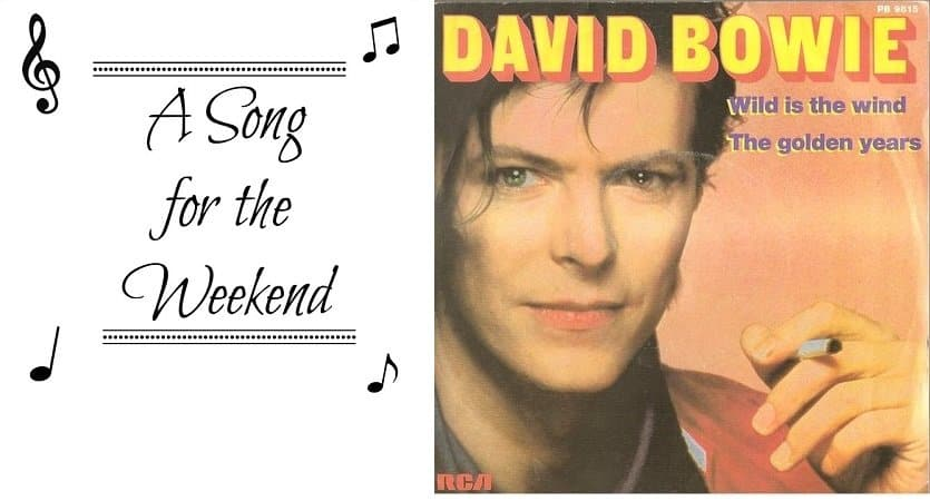 A Song for the Weekend #2 – Wild is the Wind by David Bowie
