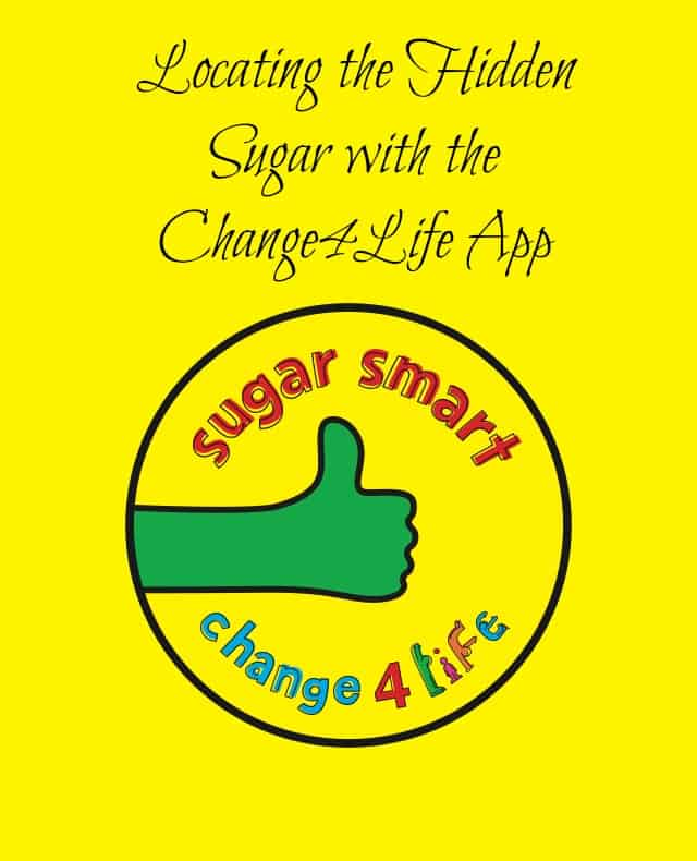 Locating the Hidden Sugar with the Change4Life App