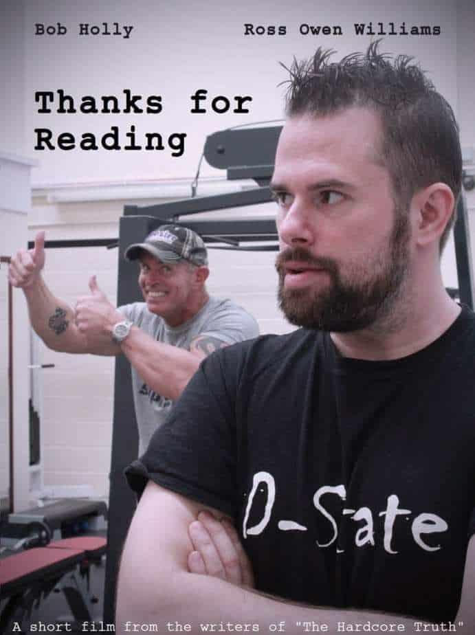 Thanks for Reading poster MASTER