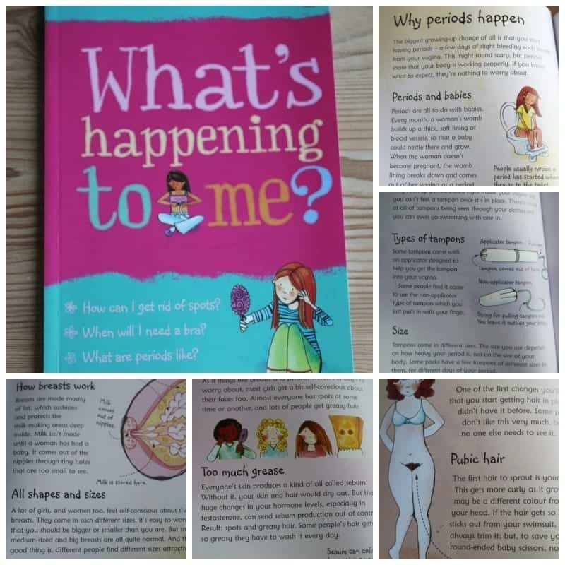 What is Happening to Me Book on Puberty