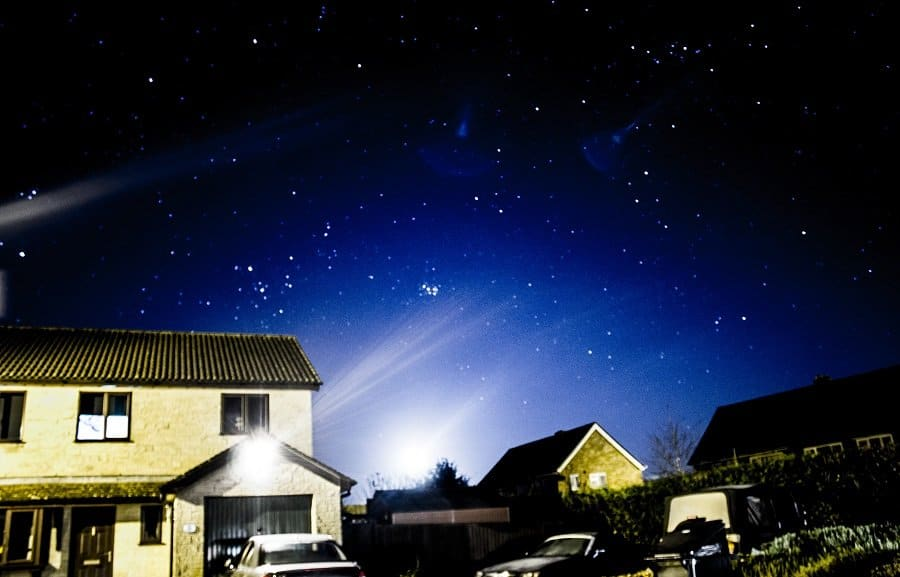 The Stars from Our House