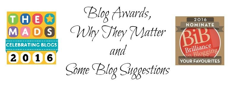 Blog Awards, Why They Matter and Some Blog Suggestions