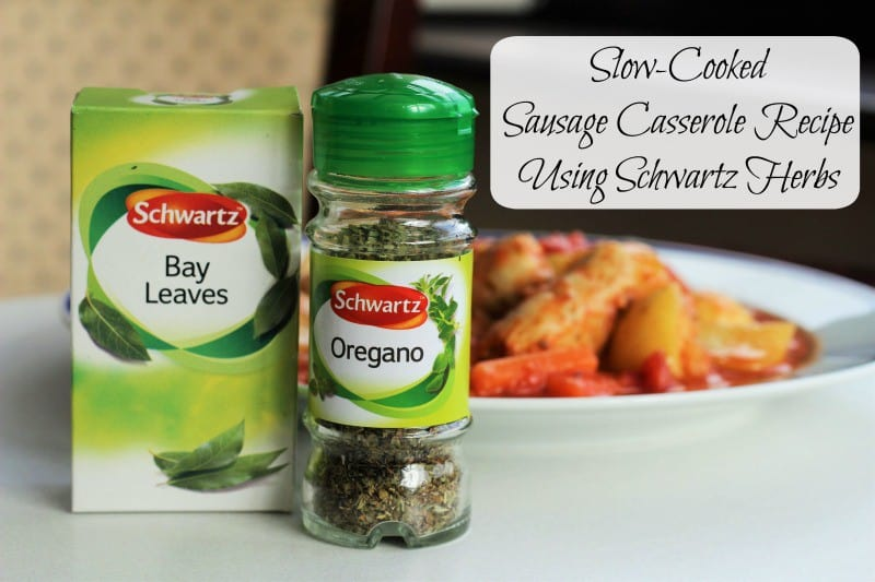 Slow-Cooked Sausage Casserole Recipe Using Schwartz Herbs