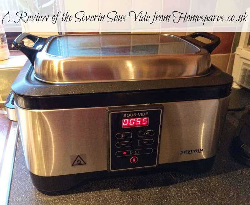 A Review of the SEVERIN Sous Vide from Homespares.co.uk
