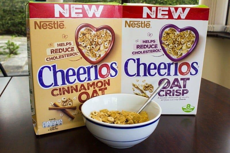 Brand New Cheerios Oat Crisp