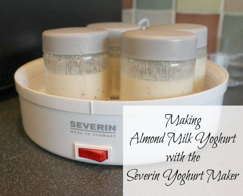 Making Almond Milk Yoghurt with the Severin Yoghurt Maker