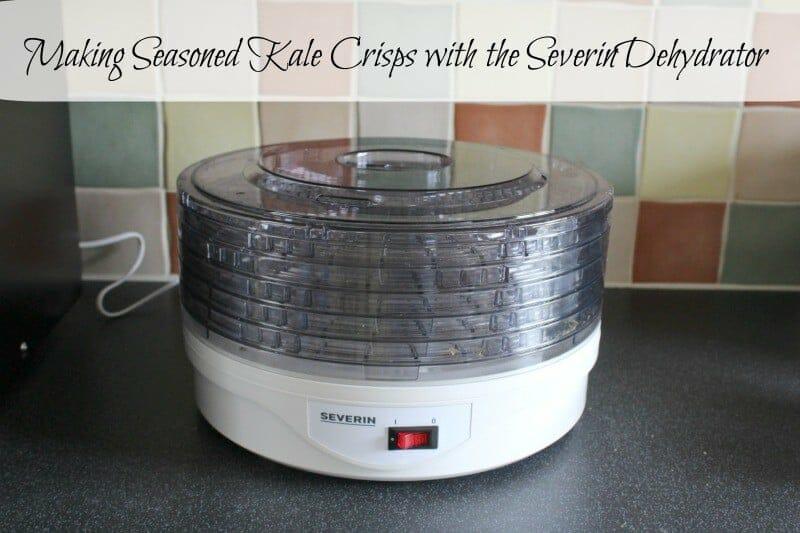 Making Seasoned Kale Crisps with the SEVERIN Dehydrator