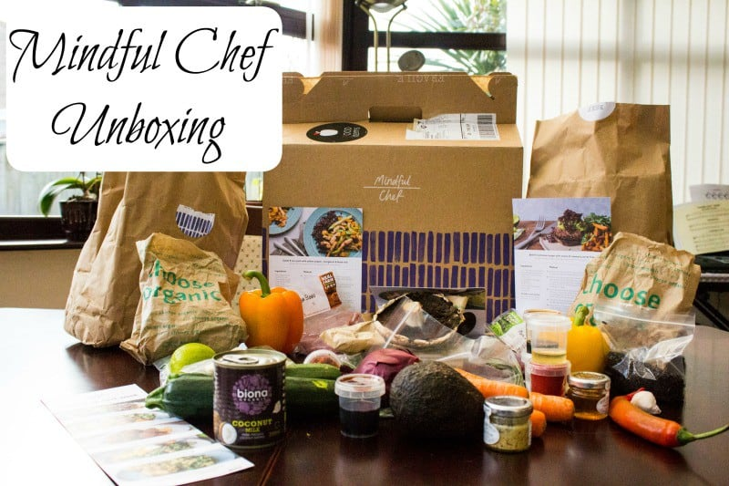 Mindful Chef Unboxing
