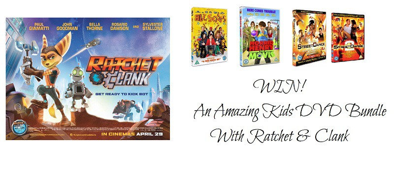 Win An Amazing Kids DVD Bundle With Ratchet & Clank – In Cinemas Now