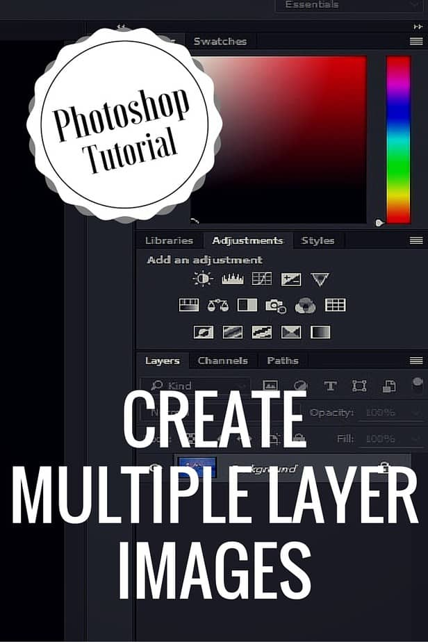 Photoshop Tutorial: Create Multiple Layer Images