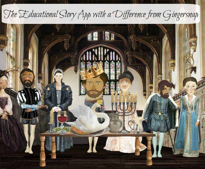 The Educational Story App with a Difference from Gingersnap