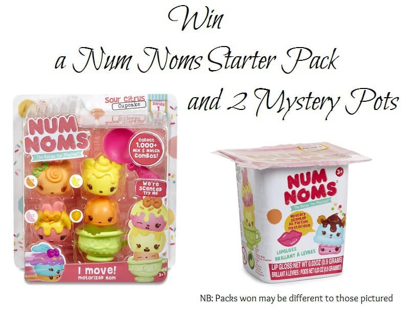 Win a Num Noms Starter Pack and 2 Mystery Pots Ends 12th July 2016