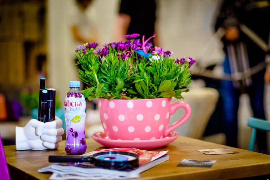 A Ribena Colouring Cafe and The Little Things That Make You Smile #Ribenary