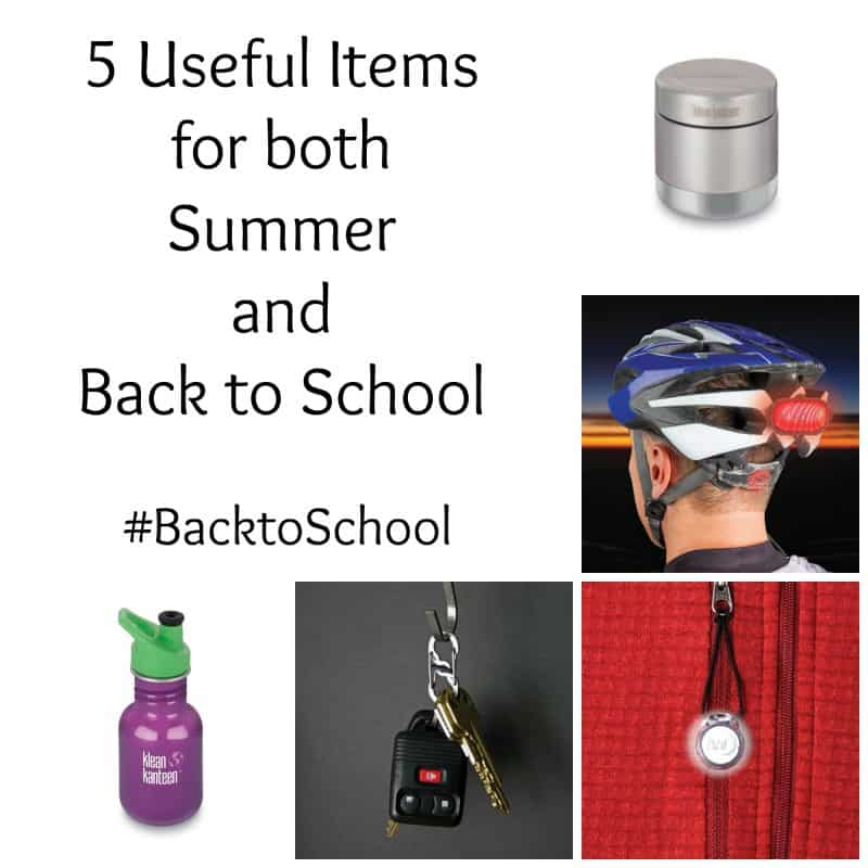 5 Useful Items for Both Summer and Back to School #BacktoSchool