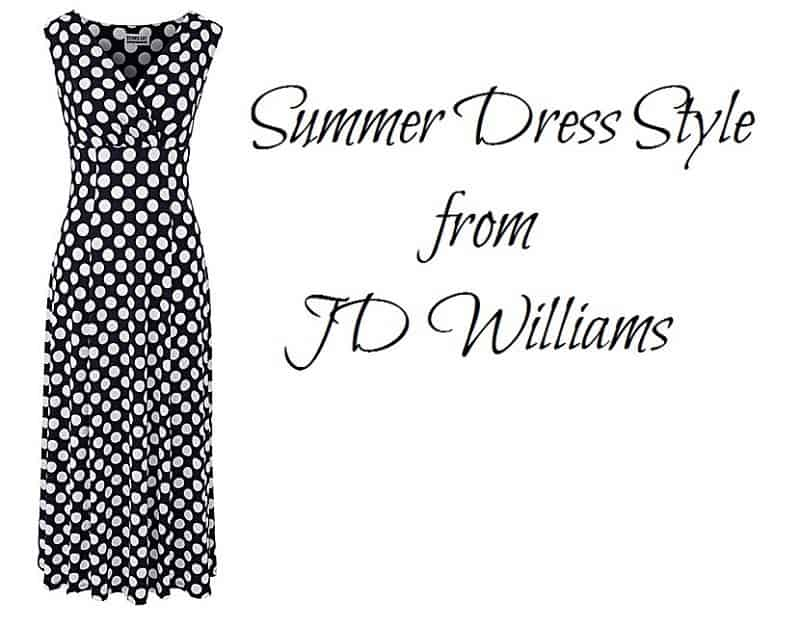 Summer Dress Style from JD Williams
