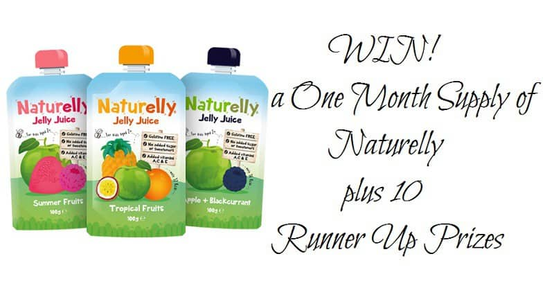 WIN a One Month Supply of Naturelly plus 10 Runner Up Prizes Ends 10pm on 18th September