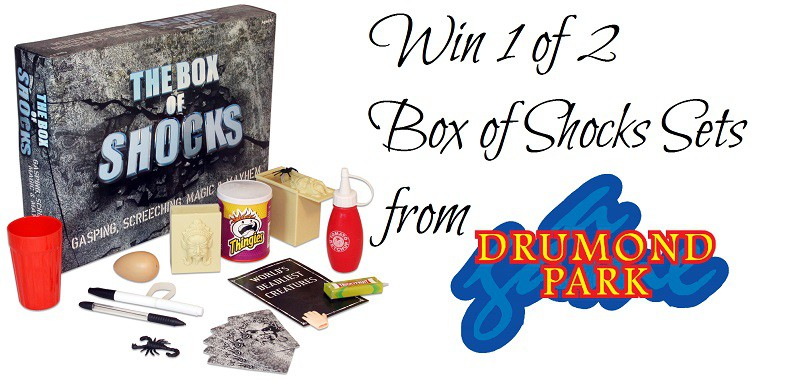 WIN 1 of 2 Box of Shocks Sets from Drumond Park. Ends 12pm on13th October 2016