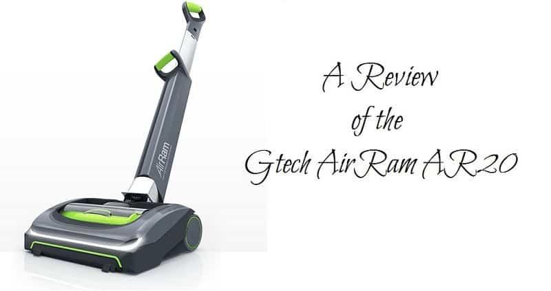A Review of the Gtech AirRam AR20