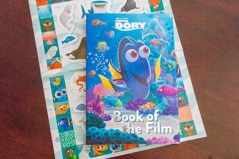 A Review of Finding Dory, The Book of the Film from Parragon Books