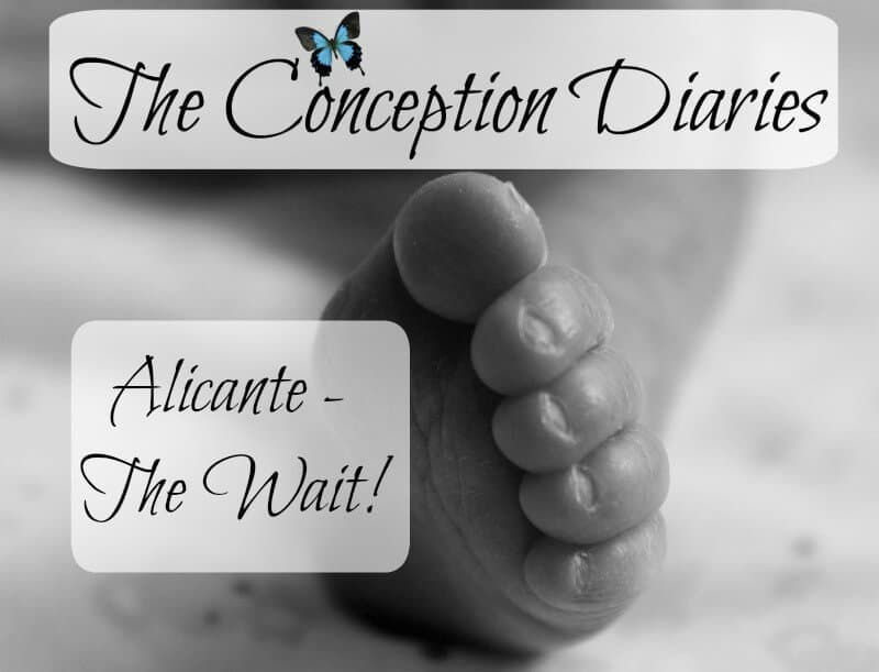 The Conception Diaries #32 – Alicante – The Wait!