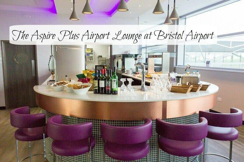 The Aspire Plus Airport Lounge at Bristol Airport
