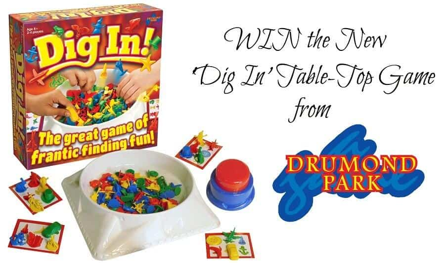 WIN the New 'Dig In' Table-Top Game from Drumond Park. E: 11th December 2016