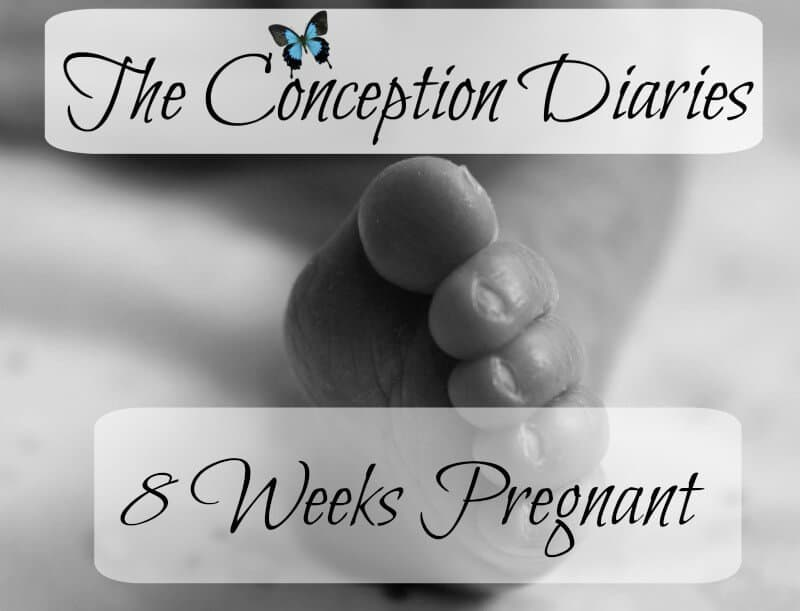 The Conception Diaries – Friday 9th December and 8 weeks pregnant