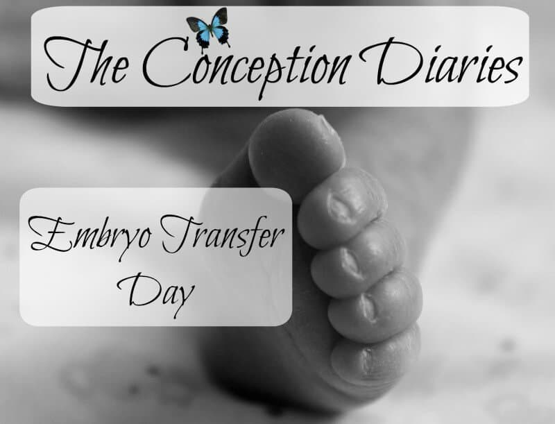 The Conception Diaries #33 – Embryo Transfer Day