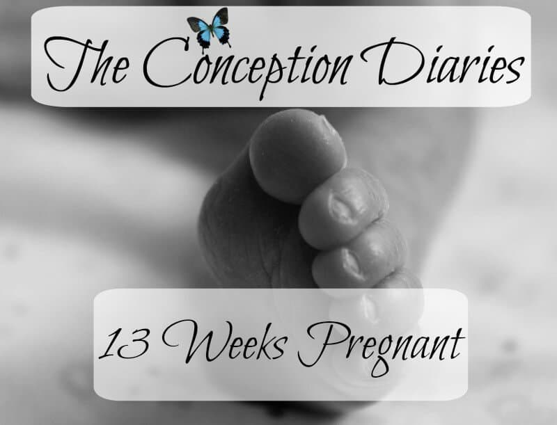 The Conception Diaries – Friday 13th January and 13 Weeks Pregnant