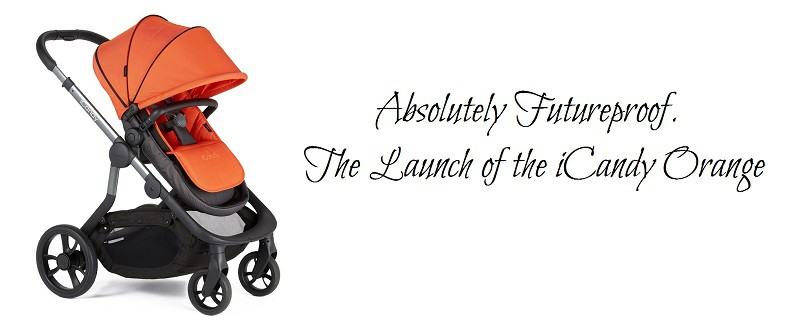 Absolutely Futureproof. The Launch of the iCandy Orange