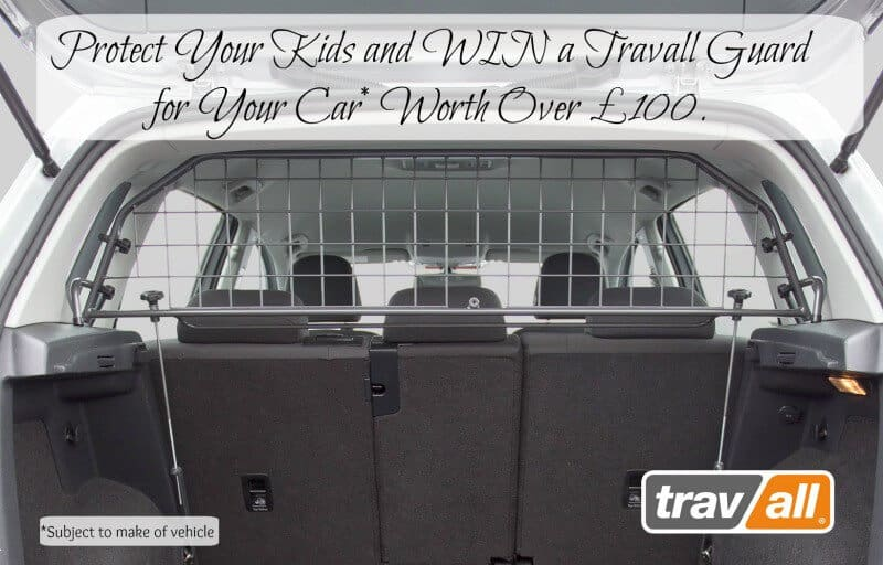 Protect Your Kids and WIN a Travall Guard for Your Car* Worth Over £100. Ends 13th April 2017.