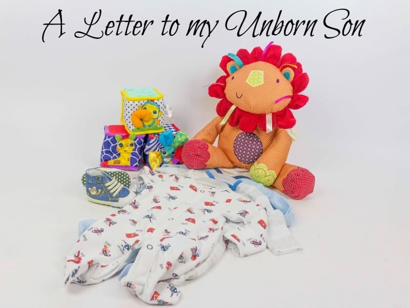 A Letter to my Unborn Son