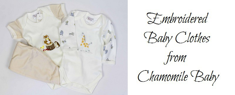 Beautiful Embroidered Baby Clothes from Chamomile Baby