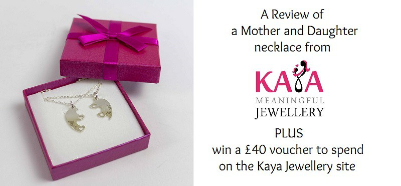 Kaya Jewellery for Mothers and their Daughters. A Review and Giveaway.