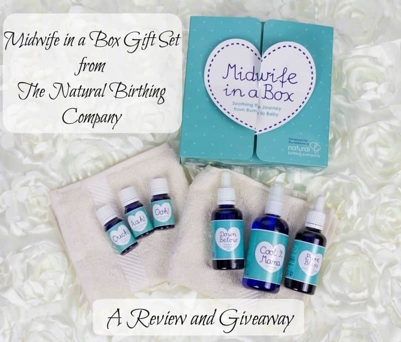 Midwife in a Box from The Natural Birthing Company – a Review and Giveaway