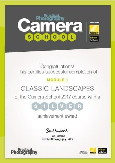 Landscapes Certificate
