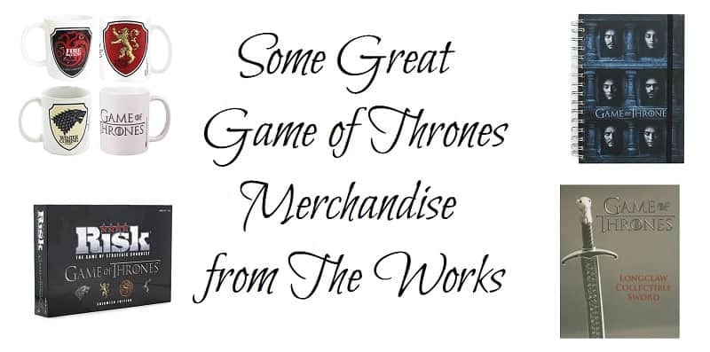 Some Great Game of Thrones Merchandise from The Works