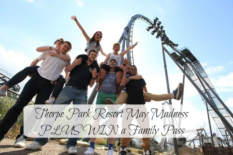 Thorpe Park Resort May Madness PLUS WIN a Family Pass